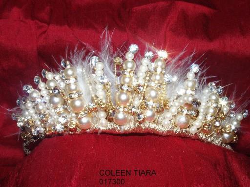 Корона - великолепное романтическое украшение для невесты. Фото с efu.com.cn