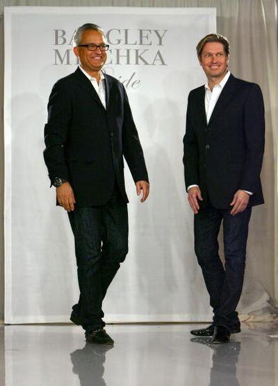 Дизайнеры Марк Багдли (Mark Badgley) и Джеймс Мишка (James Mischka). Фото: Getty Images