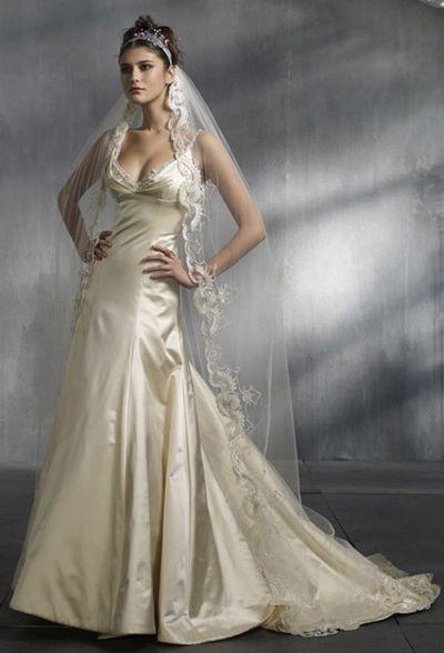 Свадебные платья lazaro 2008. Фото с efu.com.cn