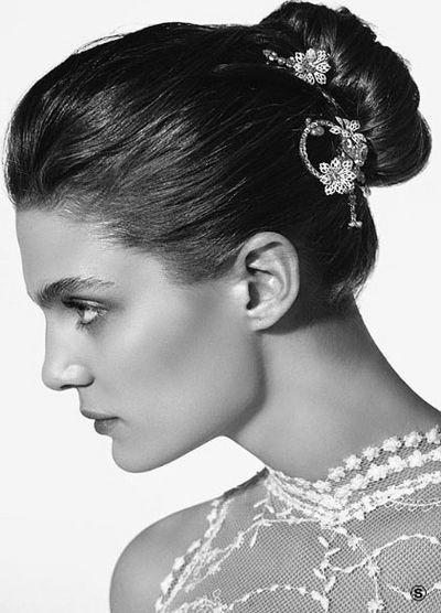 Новые украшения для невест - rosa clara- 2008. Фото с efu.com.cn
