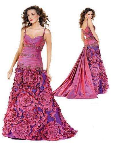 Вечерние платья летние