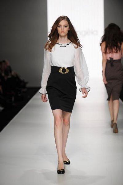 Коллекция одежды от дизайнера  Nicolangela. Фото: Gaye Gerard/Getty Images