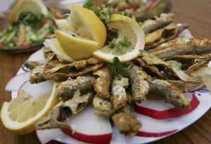 В сардинах высокая концентрация полиненасыщенных жирных кислот ряда Омега-3 и низкий уровень ртути. Фото: David Silverman /Getty Images