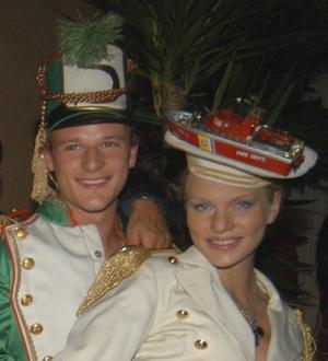 Наташа и ее муж Леопольдо. Фото предоставлено Натальей Костиной.