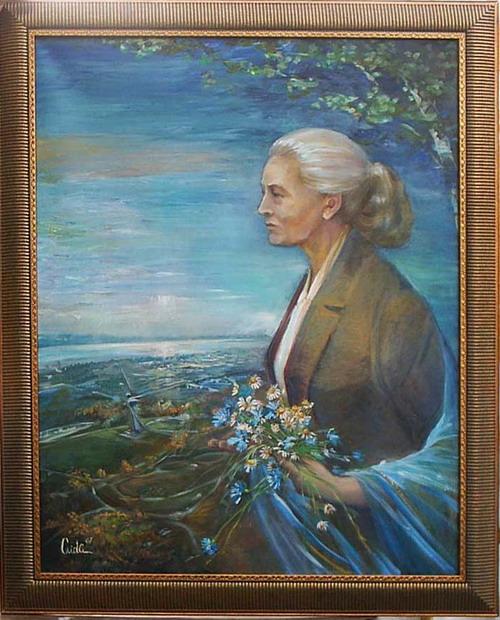 М. Агашина. Автор Аида Лисенкова-Ханемаер