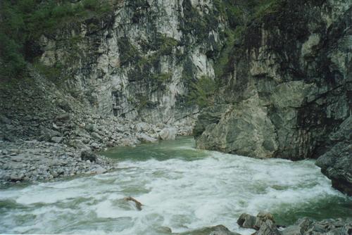 Ущелье реки Китой. Фото: Николай Попов