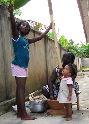 Ганские дети. Фото: Зои Ака/Великая Эпоха (The Epoch Times)