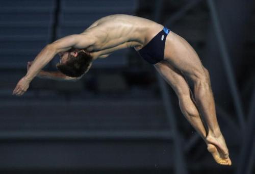 Программа соревнований прыгунов на чемпионате Европы по водным видам спорта в Эйндховене завершилась выступлениями мужчин на вышке. Фото:Hamish Blair/Getty Images