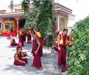 Монахи в монастыре Копан. Фото: luxury-info.ru