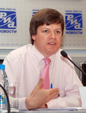 Руководитель представительства Oxfam GB в России Николас Коллофф. Фото: Юлия Цигун/Великая Эпоха