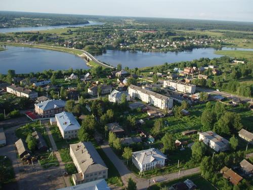 Вид на Пошехонье с высоты полета параплана. Фото: Сергей Савинов
