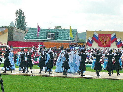 Ансамбль Кабардино-Балкарии. Фото: Елена Захарова/Великая Эпоха