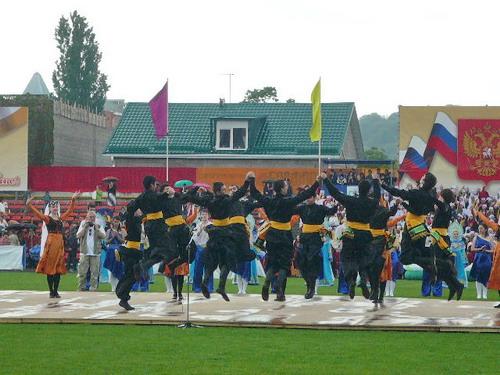 Армянский танец ставропольцев. Фото: Елена Захарова/Великая Эпоха