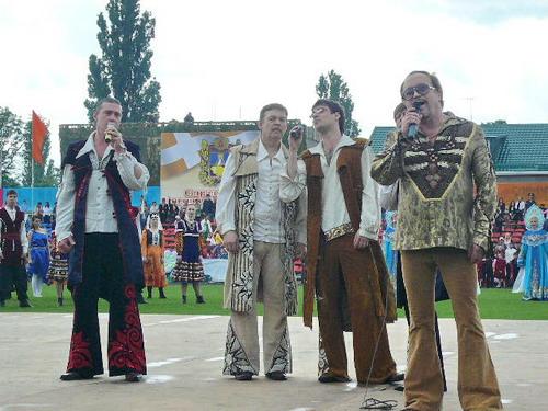 Песняры поздравляют КавМинВоды. Фото: Елена Захарова/Великая Эпоха