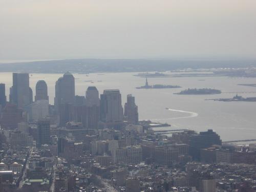 Вид Нью-Йорка с высоты небоскреба Empire State Building (ESB). Фото: Татьяна Капорина/Великая Эпоха