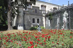 Замок Глубока,Чехия.Парковая зона./Лора Ларсиа,Великая Эпоха