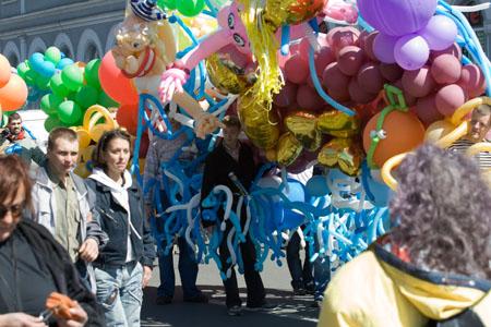 Вот, что можно сделать из воздушных шаров. Фото: Великая Эпоха