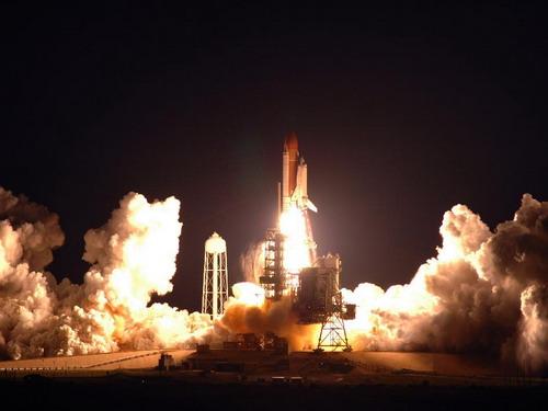 Начало миссии STS-122. Фото: С сайта nasa.gov