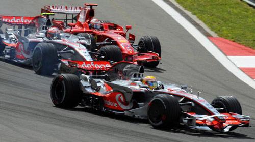 Чемпионат мира по автогонкам Формулы-1 на Гран-При Турции. Фото:BERTRAND GUAY/AFP/Getty Images