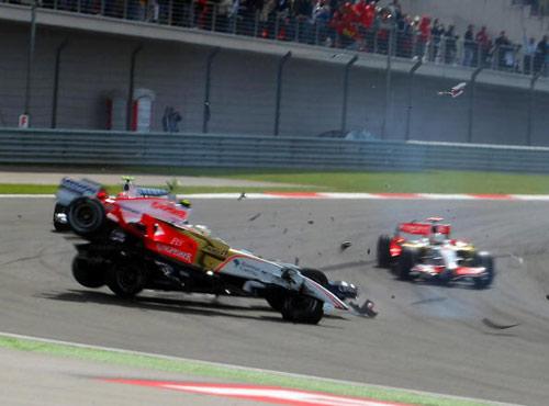 Чемпионат мира по автогонкам Формулы-1 на Гран-При Турции. Фото: GUILLAUME BAPTISTE/AFP/Getty Images