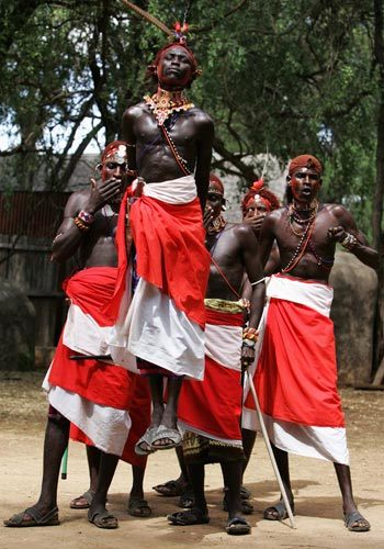 Кенийское Сафари. Фото: Chris Jackson/Getty Images