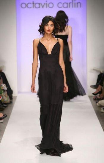 Коллекция сезона осень 2008 от Октавио Карлинн на Mercedes-Benz Fashion Week , Smashbox Studios, 10 мар та 2008, Калифорния. (Фото: Фрэйзер Харрисон / Getty Images)