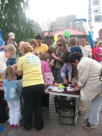 В Красноярске 12 июня прошли культурно-массовые мероприятия, посвященные празднованию Дня России и 380-летия города. Фото: Великая Эпоха