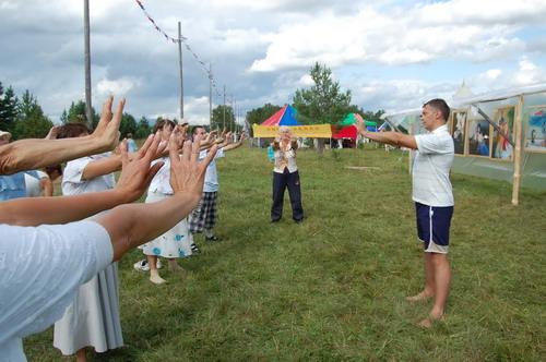 Обучение упражнениям Фалунь Дафа