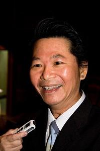Лу Чжаоци, директор Ассоциации живописи Нань Фун после Китайской феерии на Тайване. Вторник, 4 марта 2008 г. Фото: Ли Яоюй /Великая Эпоха