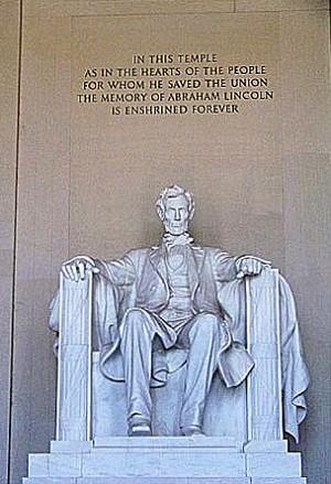 Памятник Линкольну. Фото: Энни Пилзберри/Великая Эпоха (The Epoch Times)