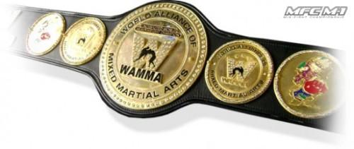 Пояс абсолютного чемпиона мира по боям без правил. Фото: mixfight.ru