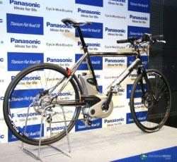 Электрический велосипед от Panasonic. Фото с сайта OneGadget.Ru