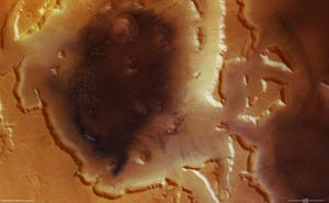 На Марсе обнаружены огромные запасы замерзшей воды. Фото с сайта cybersecurity.ru