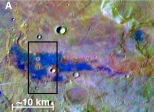 На Марсе найдены залежи соли. Фото: University of Hawaii/Arizona State University/NASA/JPL-Caltech