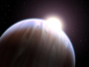 За пределами Солнечной системы обнаружены органические соединения. Иллюстрация: G. Bacon (STScI)/NASA/ESA