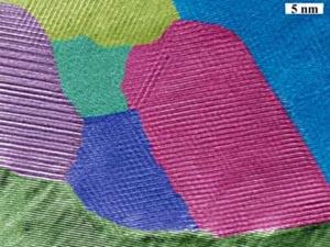 Новый термоэлектрический материал под электронным микроскопом. Фото с сайта MIT