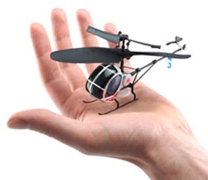 Palmsize Micro Copter. Фото: thinkgeek.com