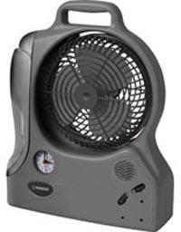 Вентилятор, фонарь, будильник и аккумулятор на солнечных батареях. Фото: maplin.co.uk