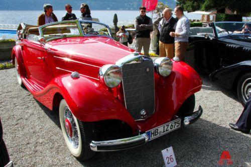 Mercedes-Benz 320 Cabriolet A (1937). Фото: autoweek.ru