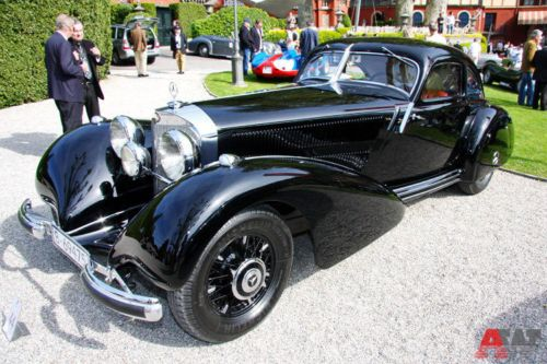 Mercedes-Benz 540K Autobahnkurier Coupe (1938). Фото: autoweek.ru