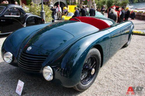 Alfa Romeo 6C 2300 Spider Jankovits (1935). Фото: autoweek.ru