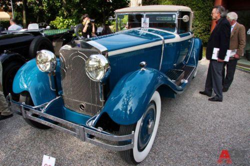 Isotta-Fraschini 8A Roadster Castagna (1928). Фото: autoweek.ru