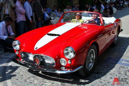 Maserati A6 G54 Cabriolet Frua (1956). Фото: autoweek.ru