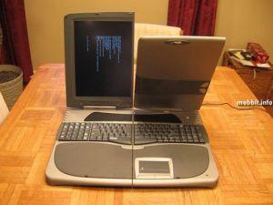 Xentex – действующий прототип ноутбука с двойным дисплеем. Фото с сайта mobbit.info