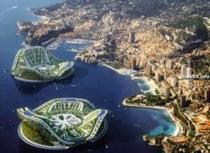 Архитектурный проект плавающих городов - Lilypad. Фото с сайта mobbit.info