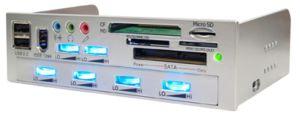 Kama Panel 2 - лицевая панель для Вашего ПК. Фото: scythe-eu.com