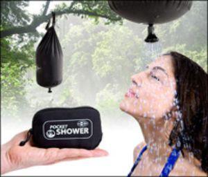 Карманный душ уже в продаже. Фото: iwantoneofthose.com