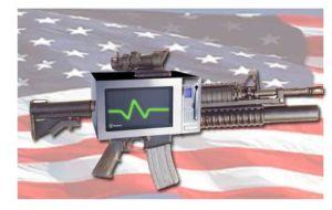 Разработана микроволновая пушка MEDUSA - прототип Railgun из игры Quake. Фото с сайта 3dnews.ru