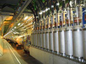 Большой адронный коллайдер: Машину Конца Света охлаждают до минус 271 градуса. Фото с сайта cybersecurity.ru