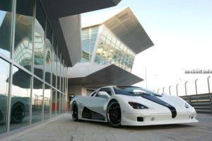 Суперкар Ultimate Aero EV – самый быстрый и экологичный электромобиль. Фото с сайта mobbit.info